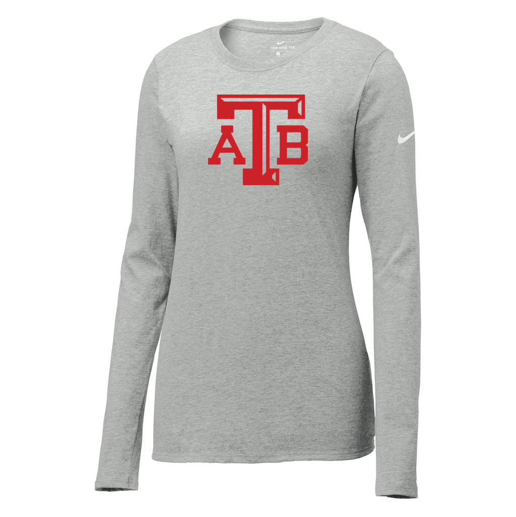 Anchor Bay Basketball Nike Ladies Core Cotton Long Sleeve Tee