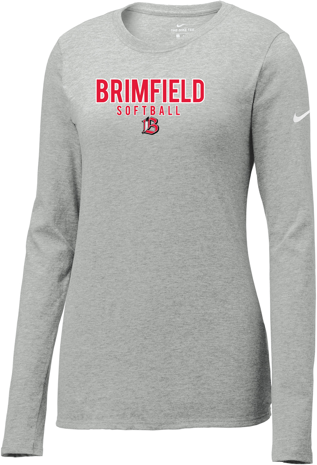 Brimfield Softball Nike Ladies Core Cotton Long Sleeve Tee