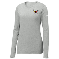 Bellaire Lacrosse Nike Ladies Core Cotton Long Sleeve Tee