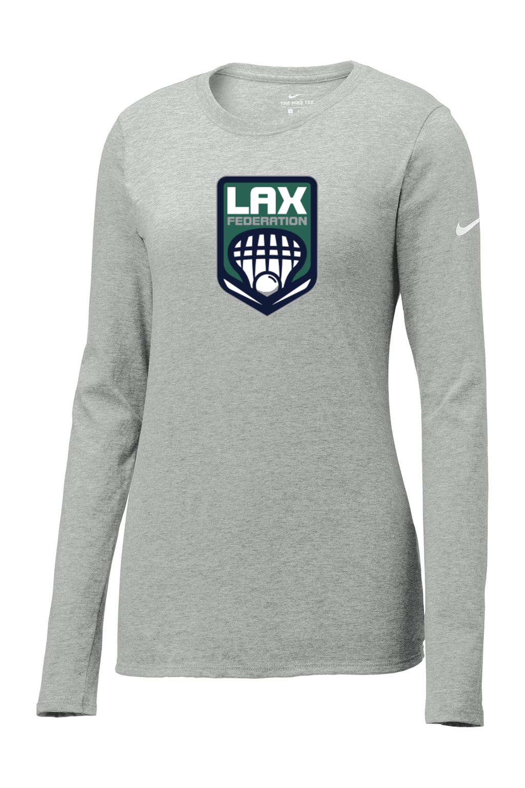 LAX FED Nike Ladies Core Cotton Long Sleeve Tee
