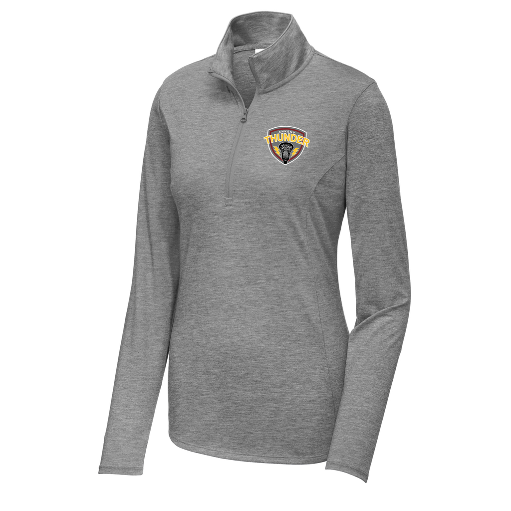 Ankeny Thunder Lacrosse Women's Tri-Blend Quarter Zip