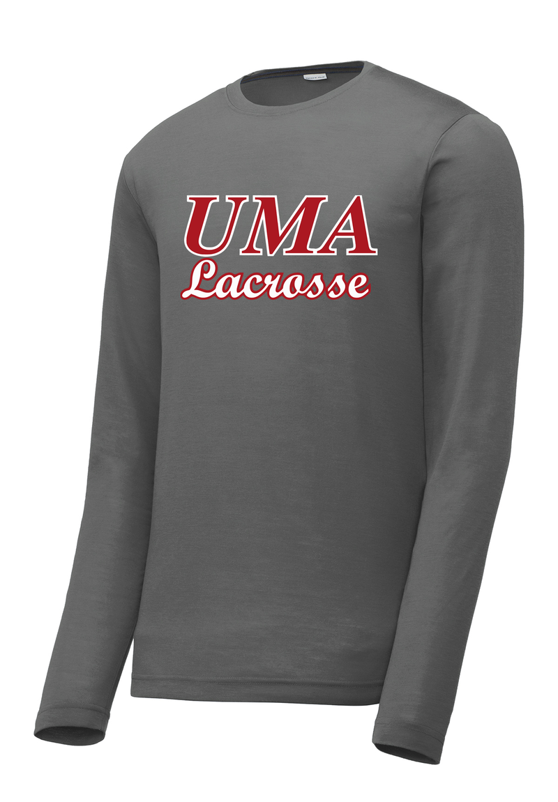 Utah Military Academy Lacrosse - Men's Long Sleeve CottonTouch Performance Shirt