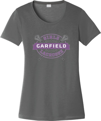 Garfield Women's Smoke Grey CottonTouch Performance T-Shirt