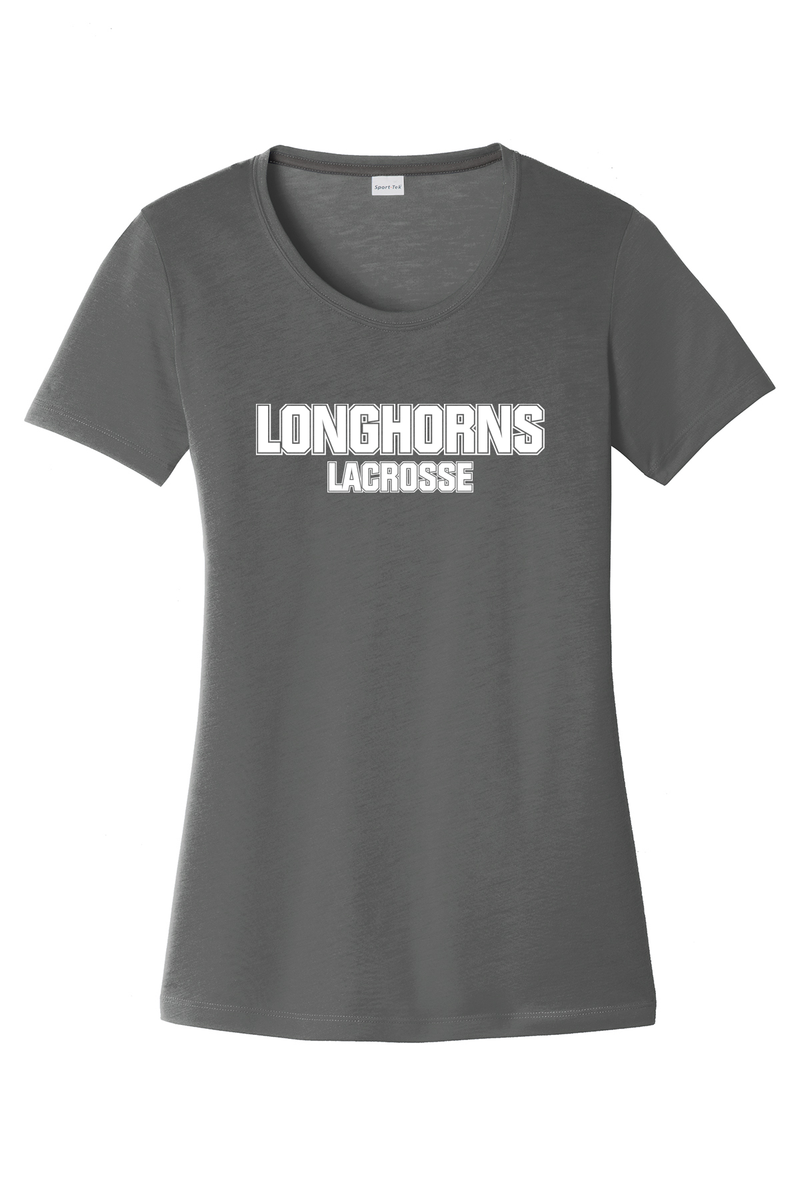 GR Longhorns Lacrosse Women's CottonTouch Performance T-Shirt