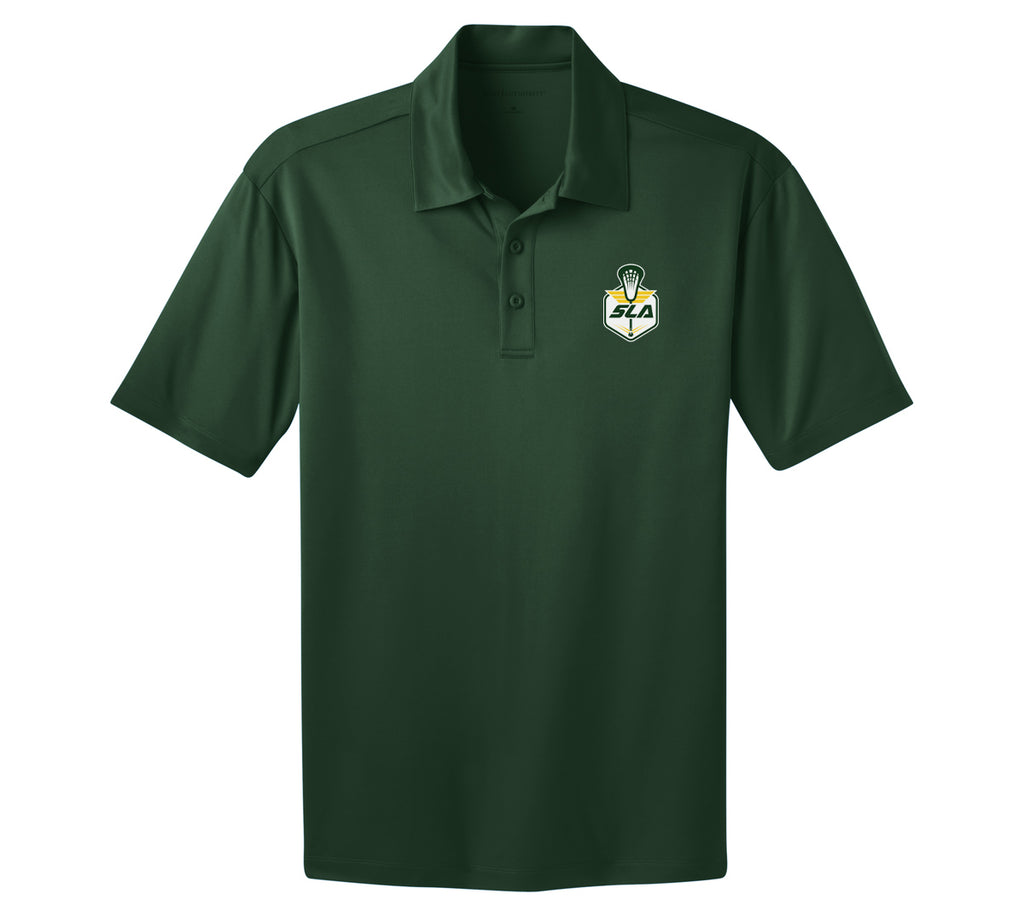 Sycamore Lacrosse Association Dark Green Polo