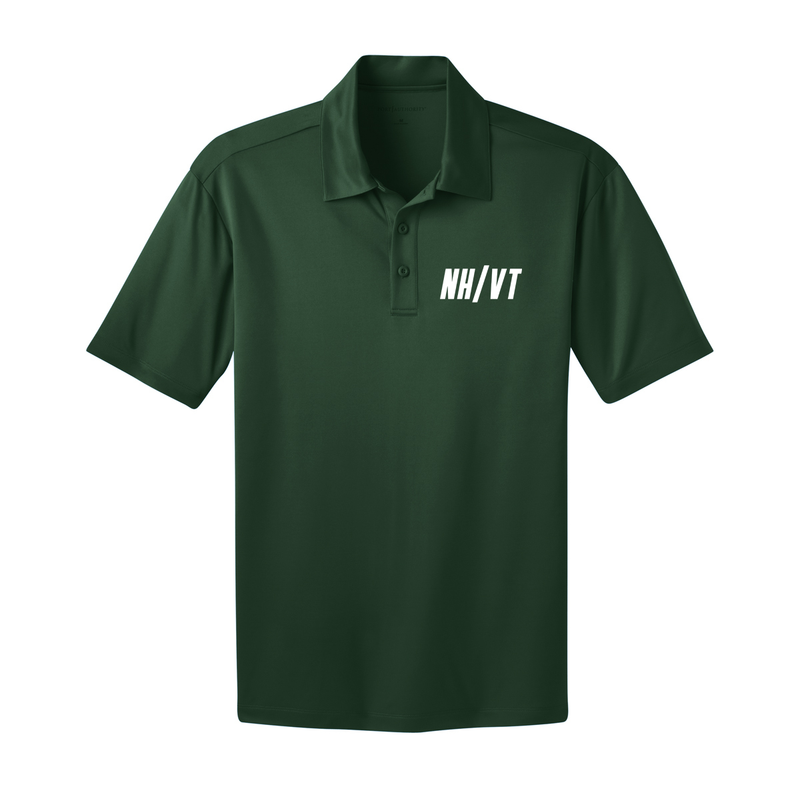 NH/VT Lacrosse - Men's Coaching Polo - Forest Green
