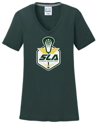 Sycamore Lacrosse Association Women's Dark Green T-Shirt
