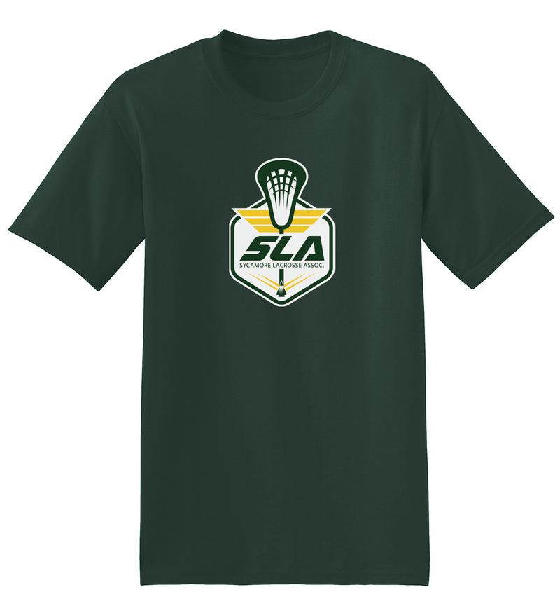 Sycamore Lacrosse Association Forest Green T-Shirt