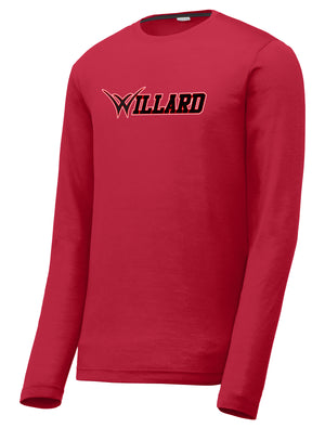 Willard Tigers Baseball Long Sleeve CottonTouch Performance Shirt