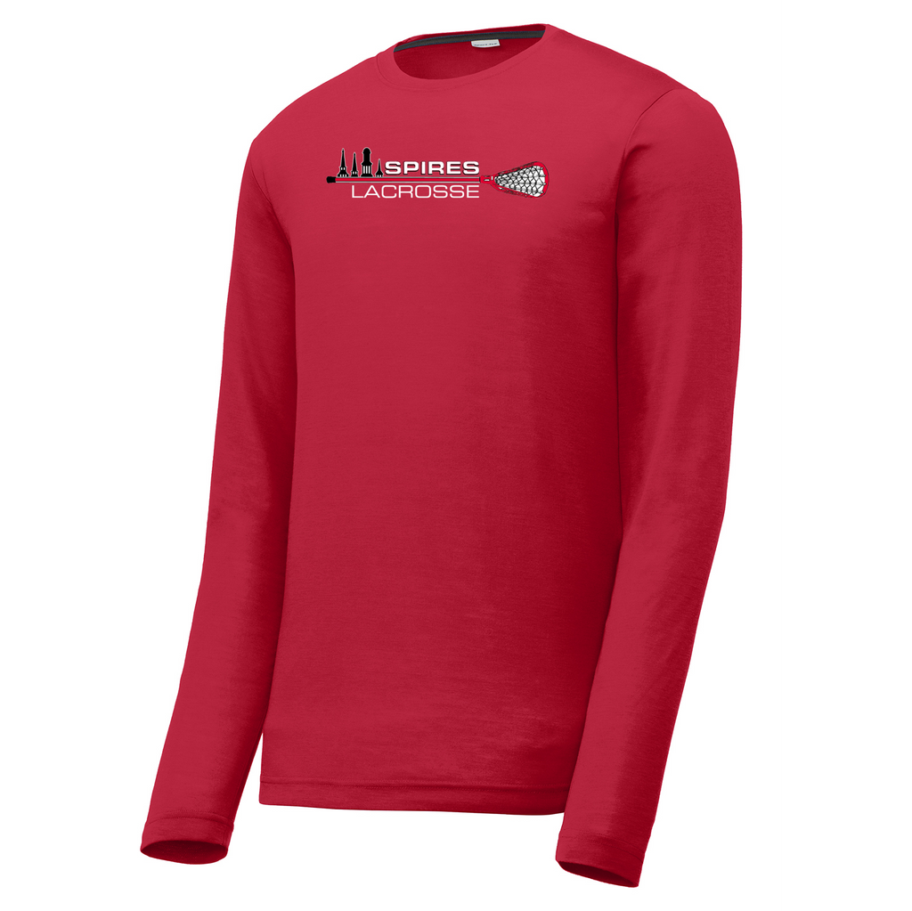 Spires Lacrosse Long Sleeve CottonTouch Performance Shirt