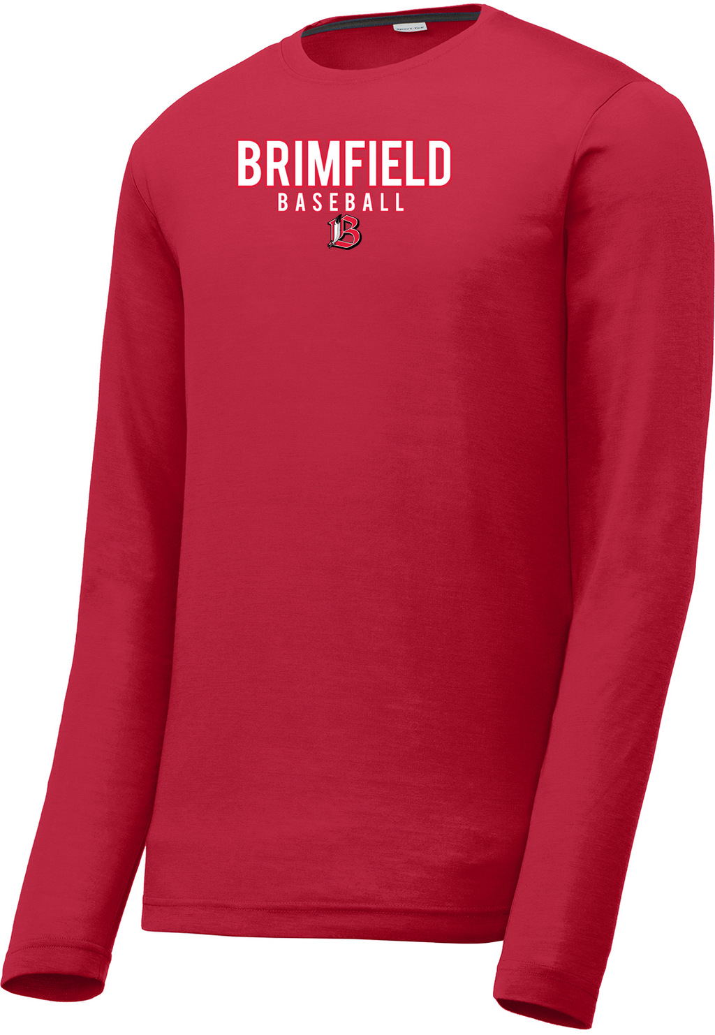 Brimfield Baseball Long Sleeve CottonTouch Performance Shirt
