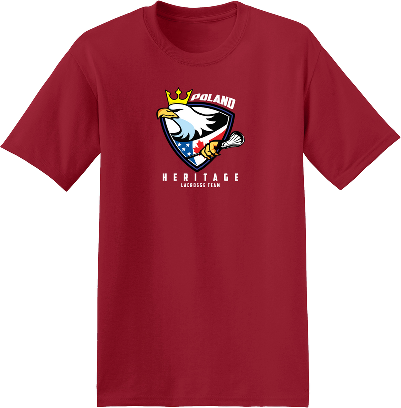 Poland Heritage Team Red T-Shirt
