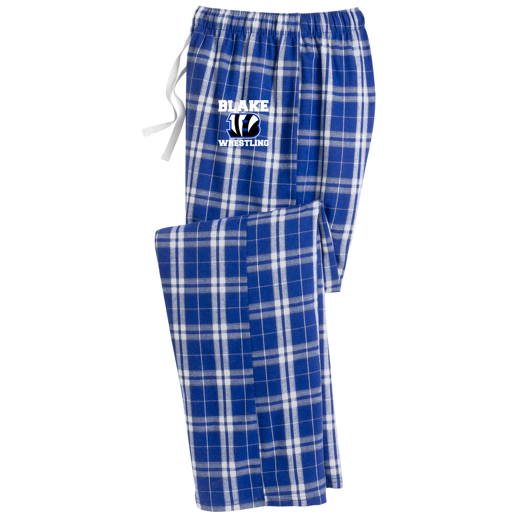 Blake Wrestling Plaid Pajama Pants