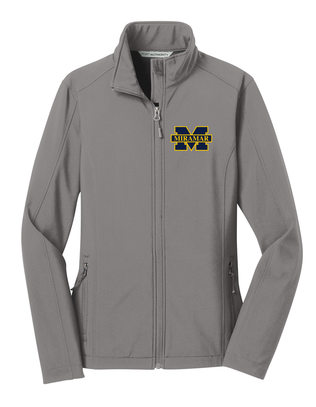 Miramar Wolverines Football Women's Soft Shell Jacket