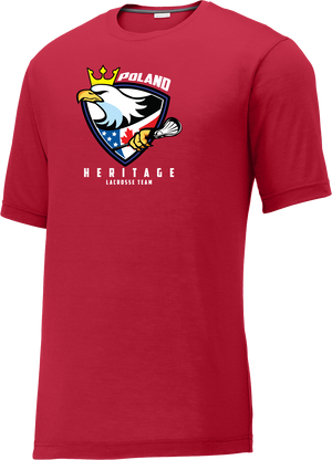 Poland Heritage Team Red CottonTouch Performance T-Shirt