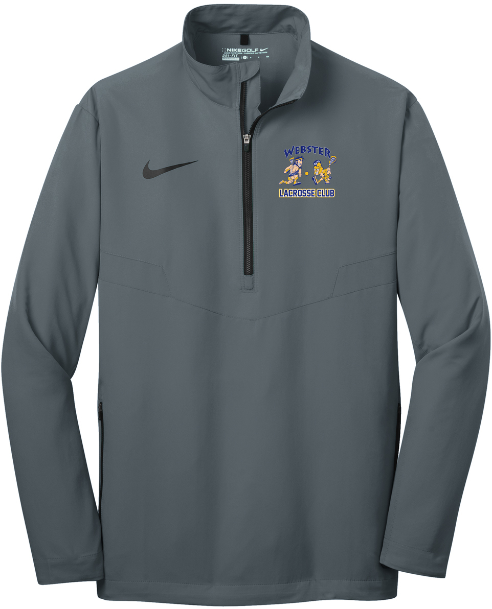 Webster Lacrosse Men's Nike 1/2 Zip Wind Shirt