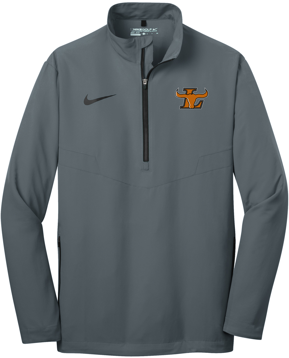 Lanier Baseball Nike 1/2 Zip Wind Shirt