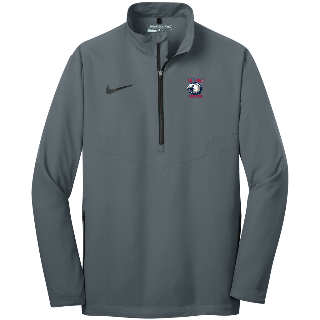 Tolland Lacrosse Club Nike 1/2 Zip Wind Shirt