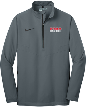 Holy Spirit Basketball Nike 1/2 Zip Wind Shirt