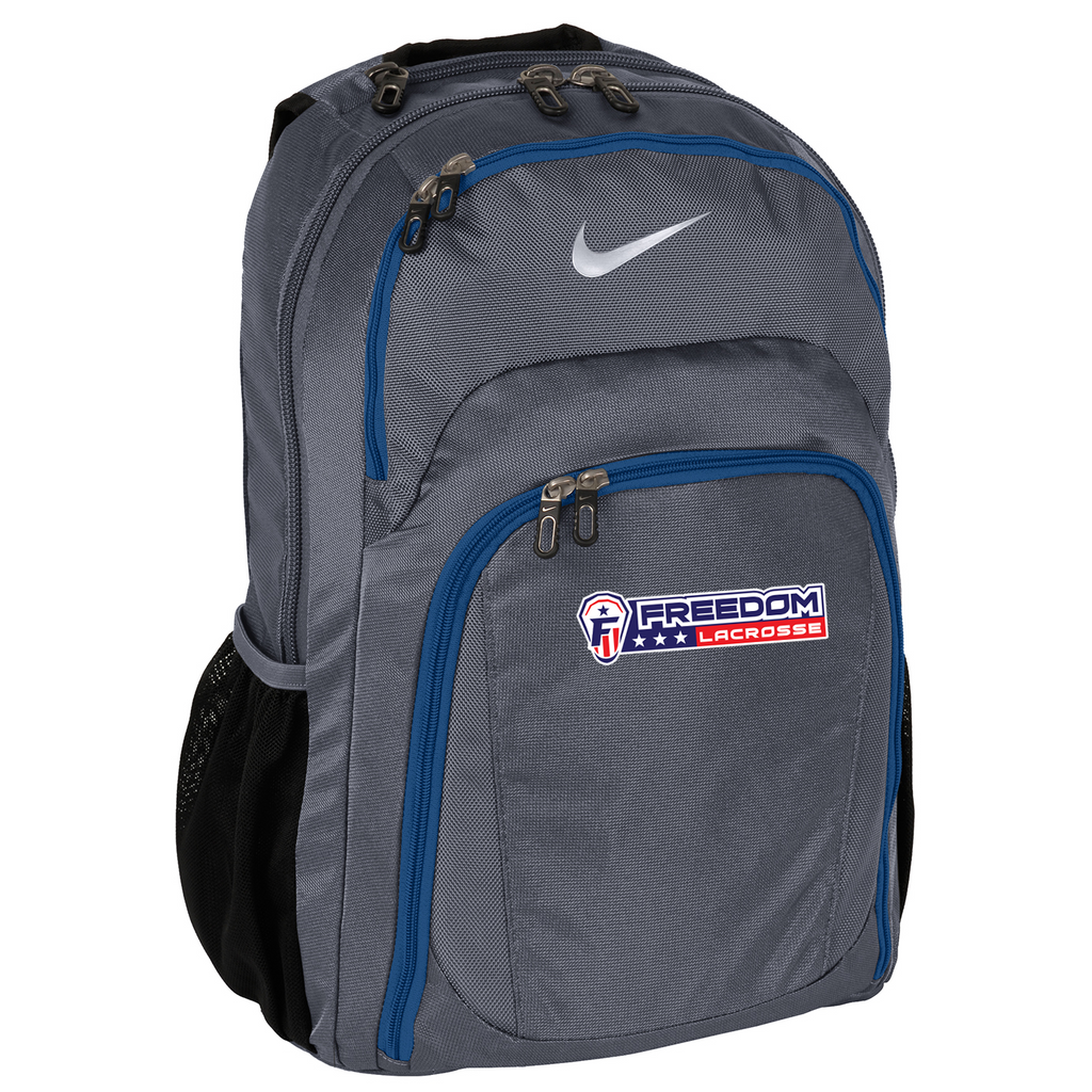 Freedom Lacrosse Dk Grey/Military Blue Nike Backpack