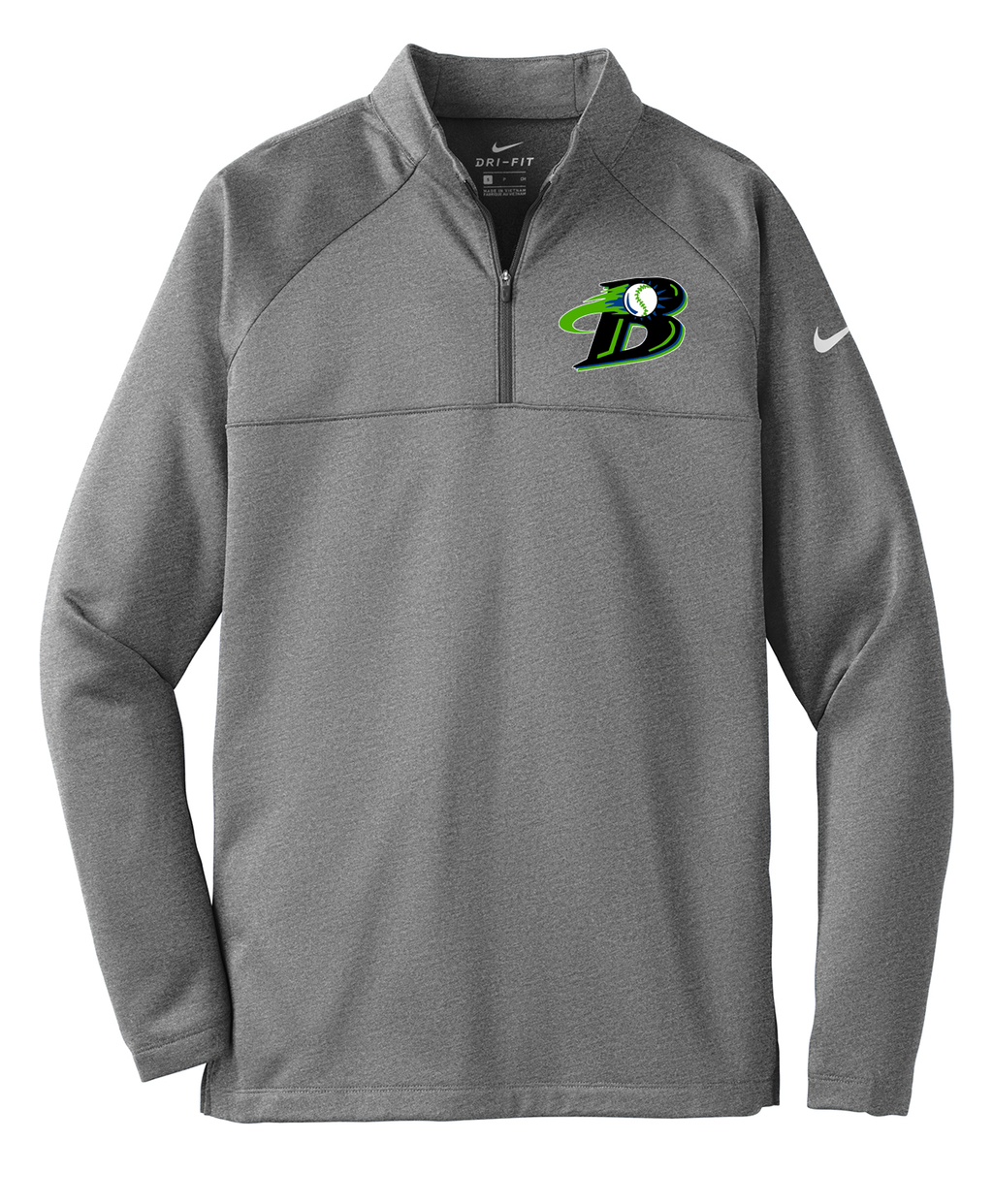 Michigan Blast Elite Baseball Nike 1/4 Zip Fleece