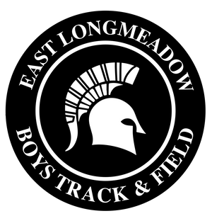 East Longmeadow Girls Track Sticker 2-Pack
