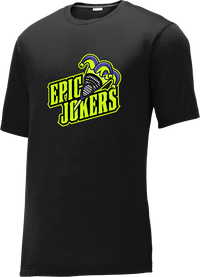 Epic Jokers Lacrosse Black CottonTouch Performance T-Shirt