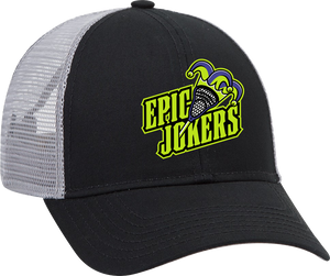 Epic Lacrosse Jokers Black/Grey Trucker Hat