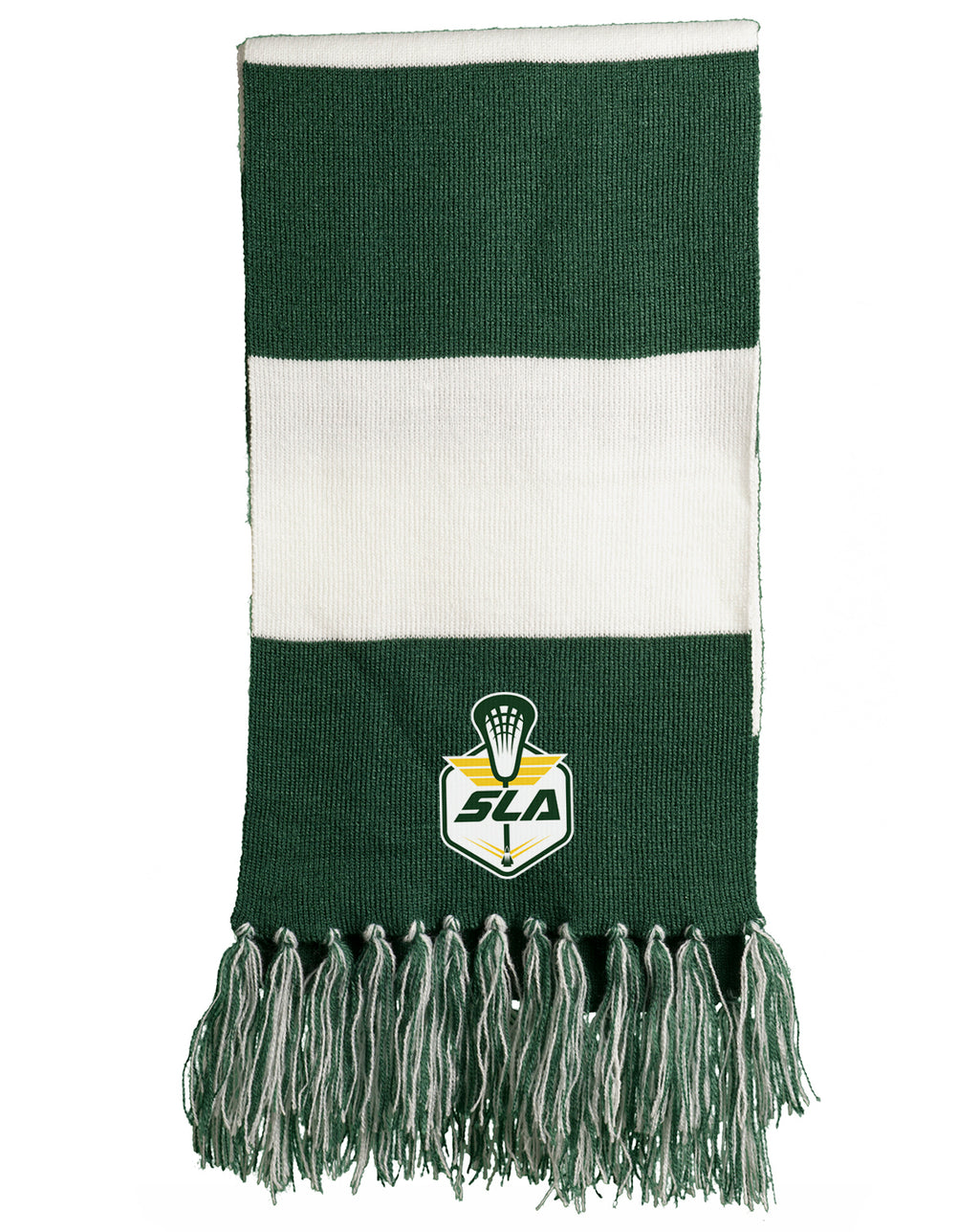 Sycamore Lacrosse Association Forest Green/White Team Scarf