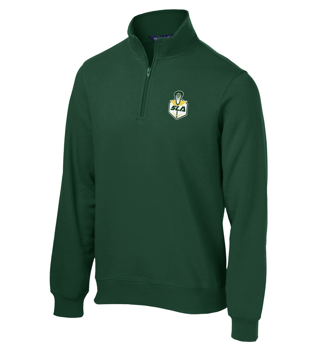 Sycamore Lacrosse Association Forest Green 1/4 Zip Fleece