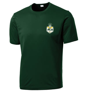 Sycamore Lacrosse Association Forest Green Performance T-Shirt