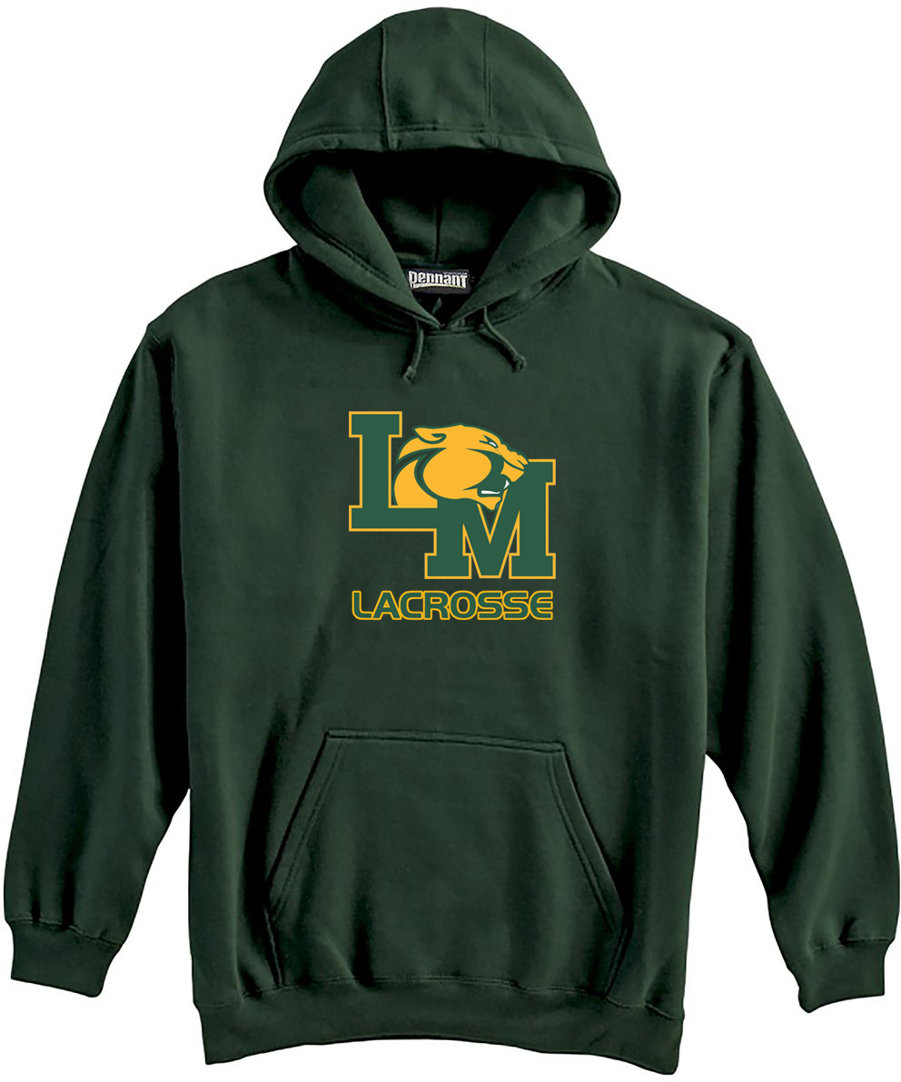 Little Miami Lacrosse Forest Green Sweatshirt