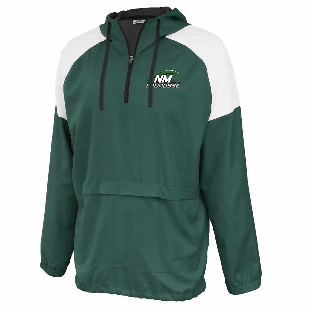 New Milford Youth Lacrosse Anorak Hooded Quarterzip