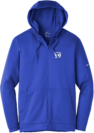 Blue Devils Baseball Nike Therma-FIT Full Zip Hoodie