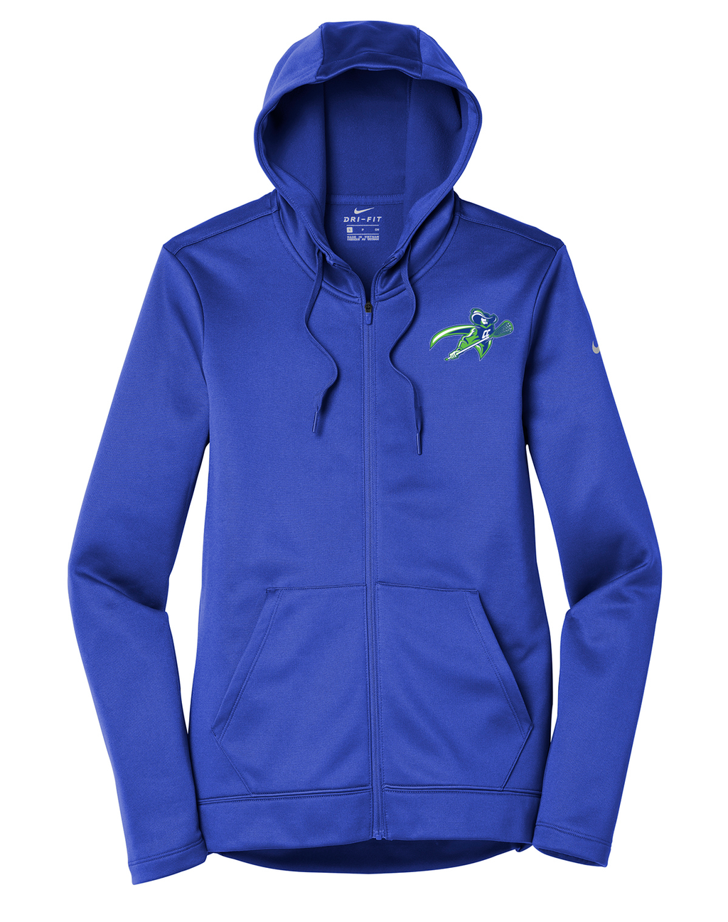 Cavaliers Lacrosse Nike Ladies Therma-FIT Full Zip Hoodie