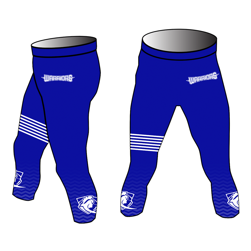 Westchester Warriors Girls 3/4 Compression Pants