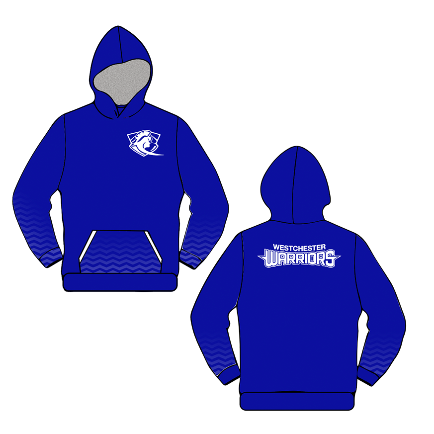 Westchester Warriors Girls Sublimated Hoodie