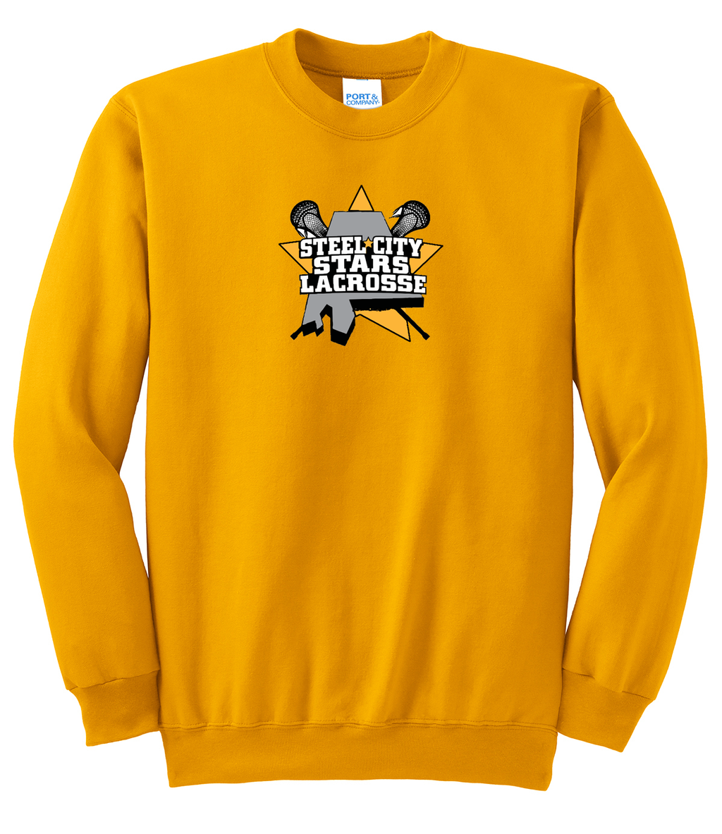 Stars Lacrosse Crew Neck Sweater
