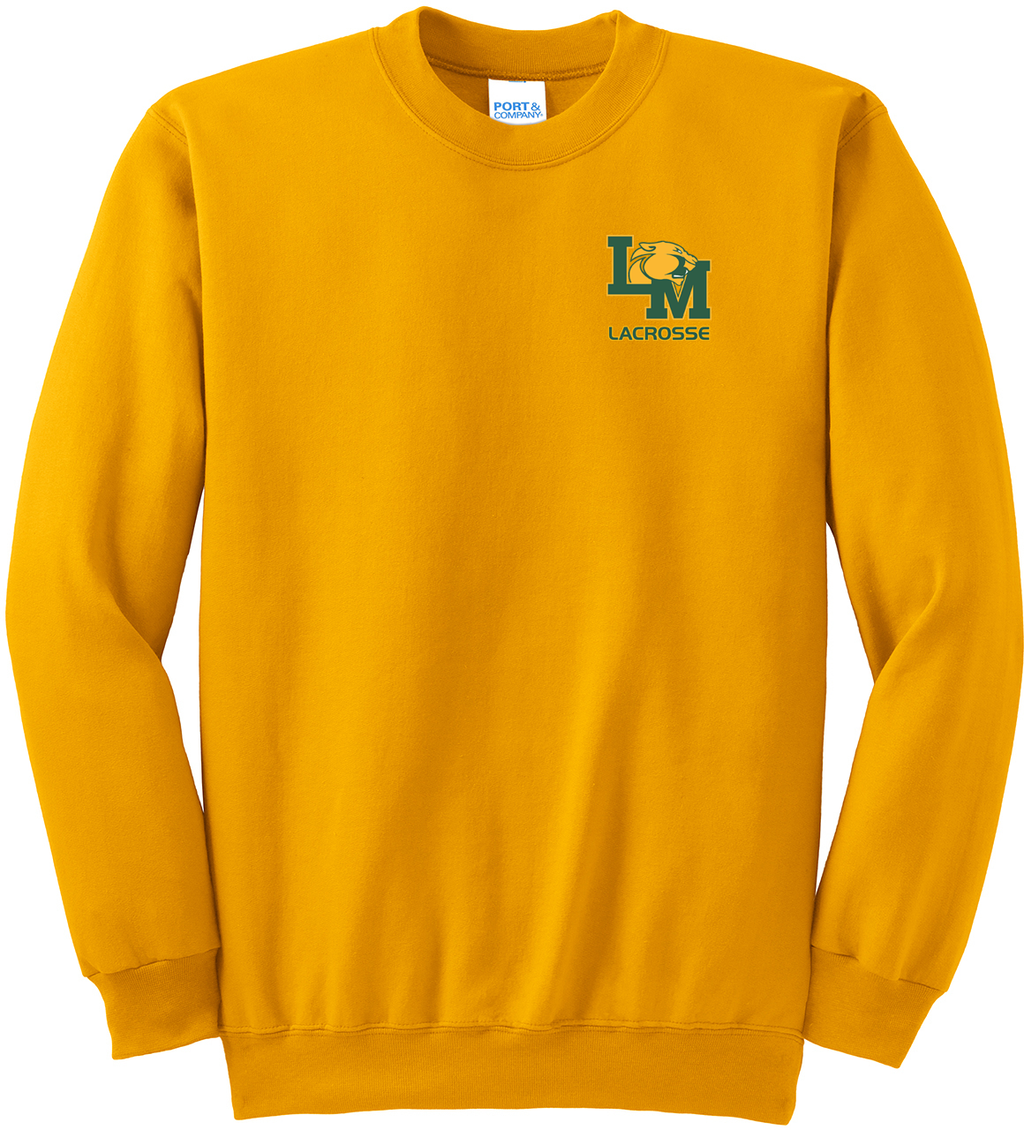Little Miami Lacrosse Gold Crew Neck Sweater