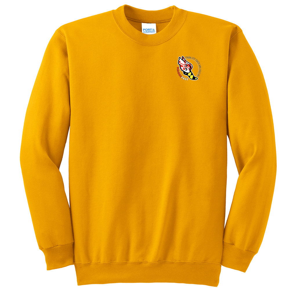 Baltimore City T&F  Crew Neck Sweater