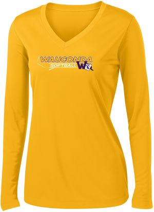 Wauconda Softball Women's Long Sleeve Performance Shirt