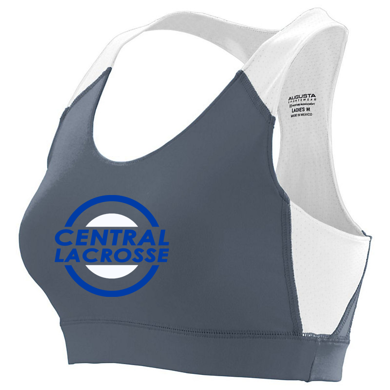 Central Girls Lacrosse Sports Bra