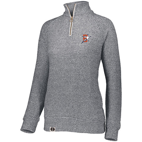 Eastvale Girl's Softball Women's Comfy 1/4 Zip