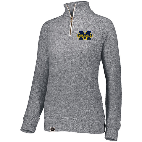 Miramar Wolverines Football Women's Comfy 1/4 Zip