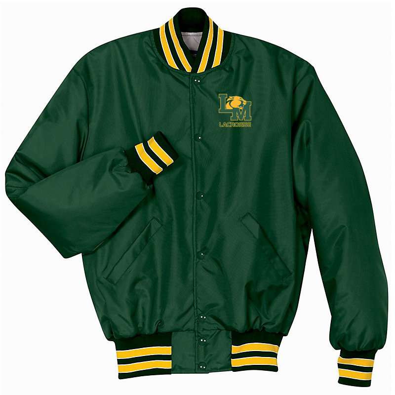 Little Miami Lacrosse Green/Gold/White Heritage Jacket
