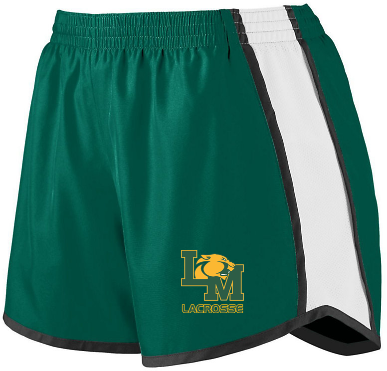 Little Miami Lacrosse Women's Green & White Pulse Shorts