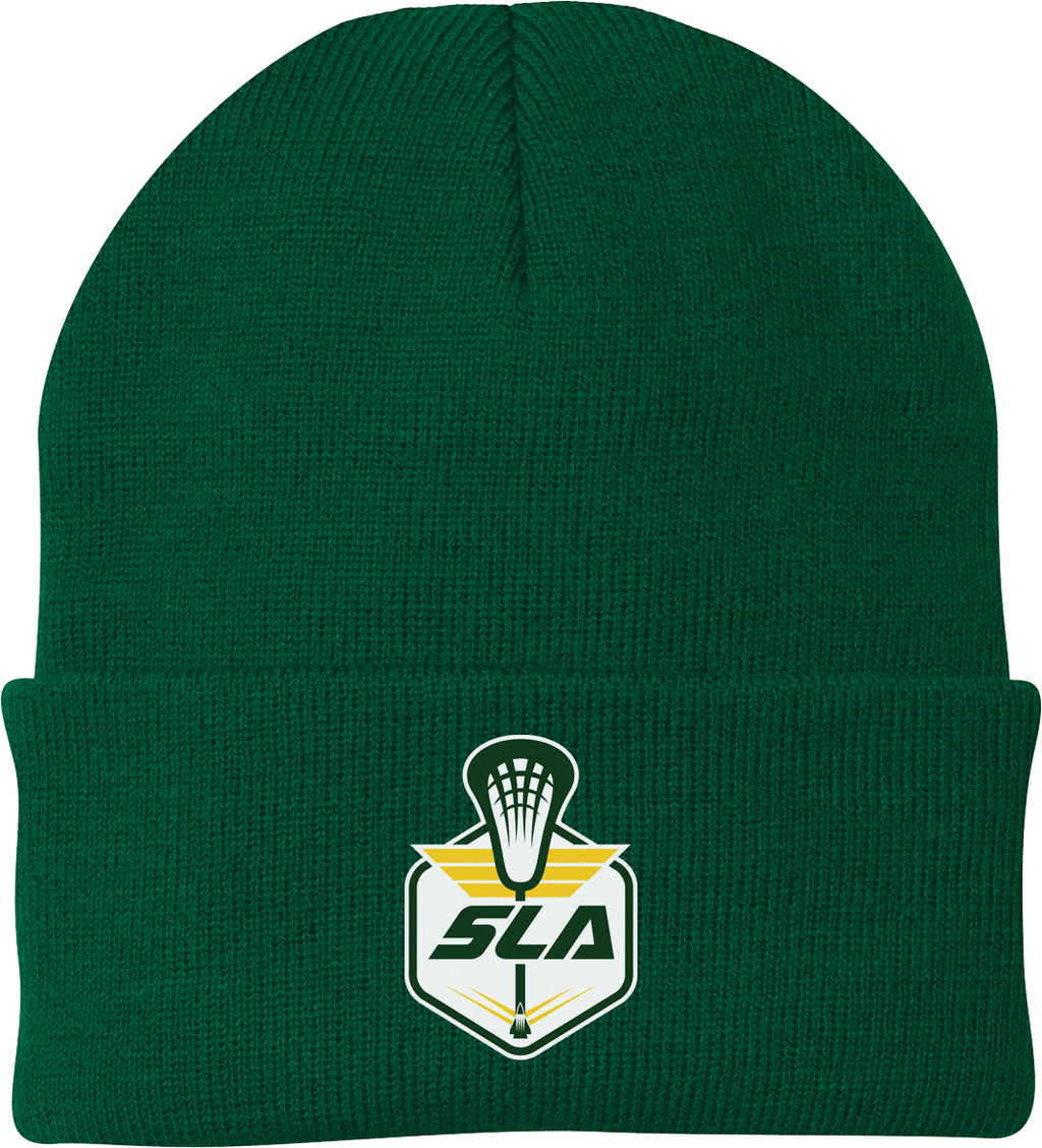 Sycamore Lacrosse Association Green Knit Beanie