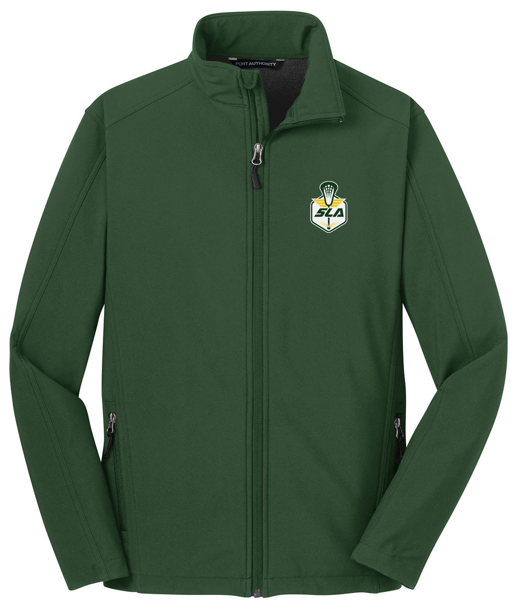 Sycamore Lacrosse Association Green Soft Shell Jacket