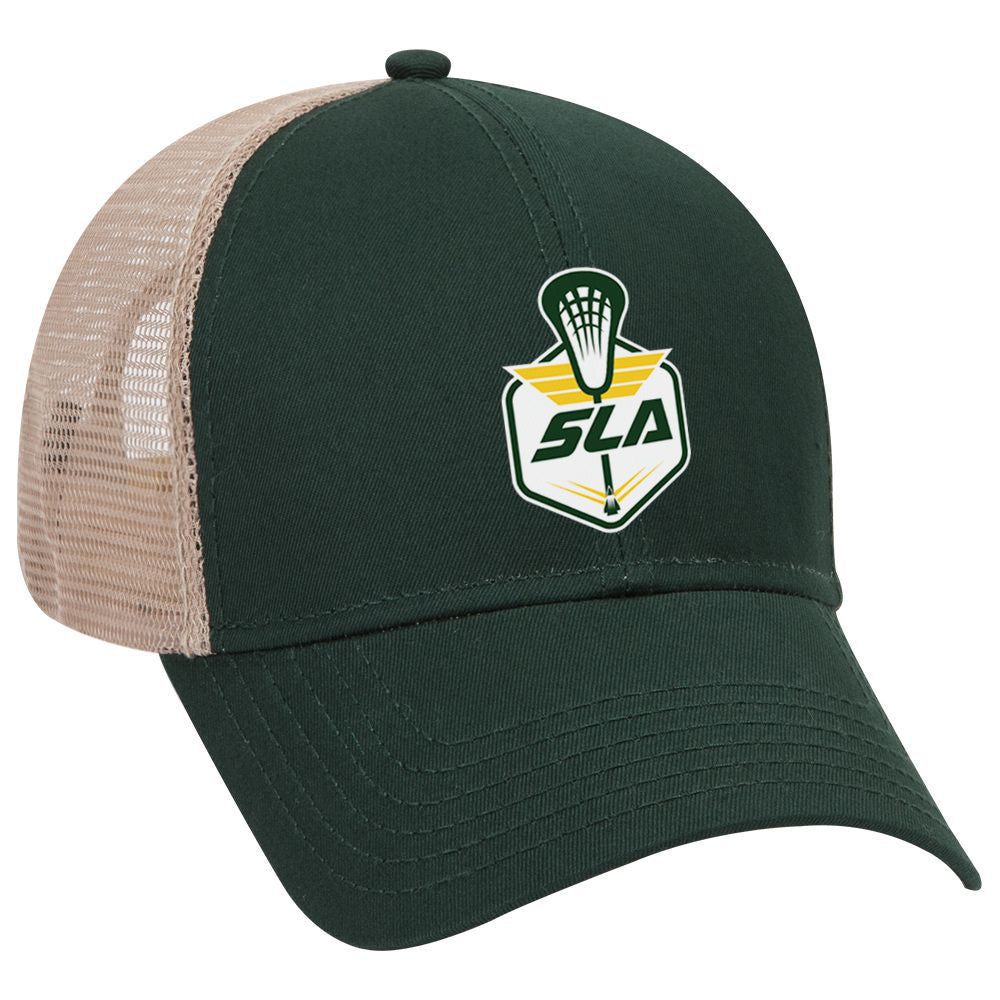 Sycamore Lacrosse Association Green/Khaki Trucker Hat