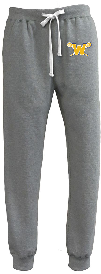 Webster Lacrosse Men's Grey Heather Joggers